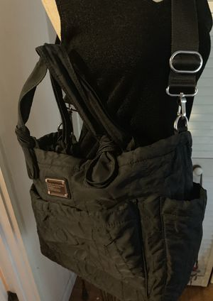 Marc Jacobs black quilted diaper bag tote for Sale in Fresno, CA