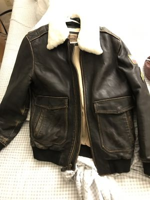 Wilson leather jacket M for Sale in Chantilly, VA