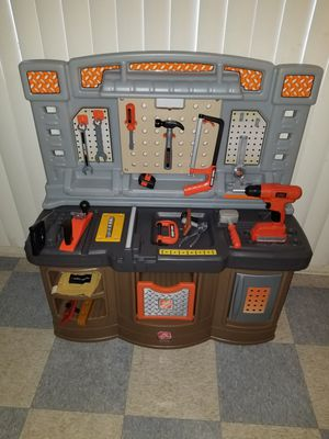 """Step 2 Bench and tools for Kids 34"""" × 37"""" for Sale in Rancho Cucamonga, CA"""