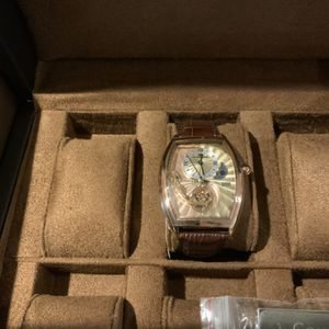 Constantin Weisz Professional Brown Leather Watch for Sale in Las Vegas, NV