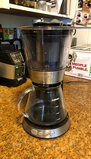 Cuisinart Cold Brew coffee maker for Sale in Kaneohe, HI