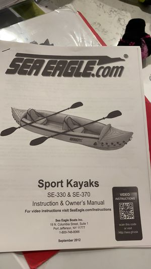 Sea eagle 2-3 seater kayak for Sale in Tracy, CA