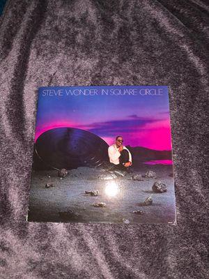 Stevie Wonder in square circle record for Sale in Lakeland, FL