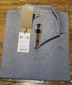 Burberry Polo shirt (Grey) for Sale in Dallas, TX