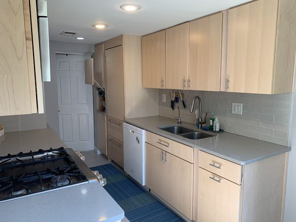 AMAZING Kitchen Cabinets AND Granite Counters!