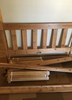 IKEA bed frame queen for Sale in San Diego, CA