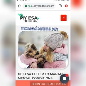 《☆》Getting Emotional support for dog for Sale in New York, NY