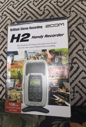 Handy recorder high fidelity microphone for Sale in Palm Bay, FL