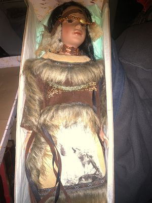 Antique Native American doll..original . for Sale in Edwardsville, IL
