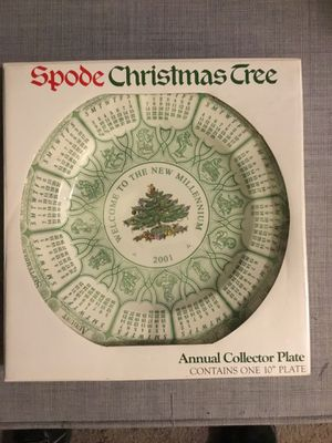 Spode Christmas tree plate for Sale in Brick Township, NJ