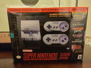 ***Super Nintendo Classic *** for Sale in Fresno, CA