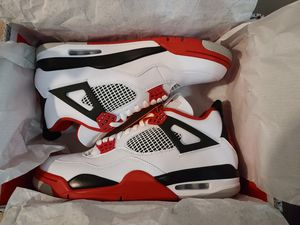Size 11 DS Jordan 4 Fire Red for Sale in Hercules, CA