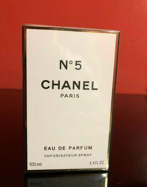 CHANEL No 5 EDP 3.4 FL Oz 100 Ml Eau De Parfum Perfume Spray for Sale in Houston, TX