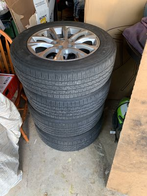 Jeep Rims and Tires from 2019 Jeep Cherokee for Sale in Miami, FL
