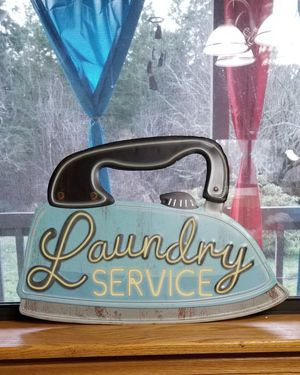 Metal Laundry Sign for Sale in Yelm, WA