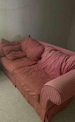 Red Striped Couches for Sale in Falls Church, VA