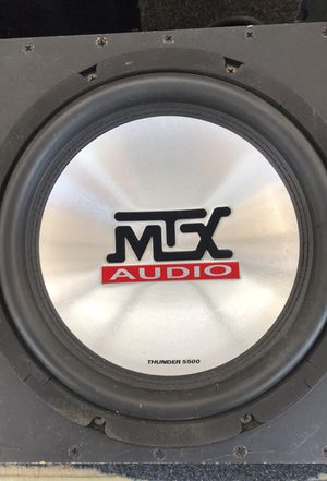 2 -10. Mtx sub for Sale in Portland, OR
