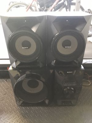 SONY Home Audio Stereo System MHC-ECL99BT (No Remote) for Sale in San Carlos, CA