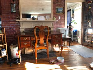 Queen Ann style desk pick up only no delivery for Sale in Hanson, MA