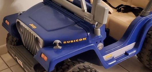 Jeep Power Wheel Blue Two Seats for Sale in Miami,  FL