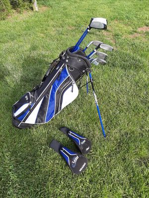 Maxfli, junior golf bag & clubs for Sale in Red Hill, PA