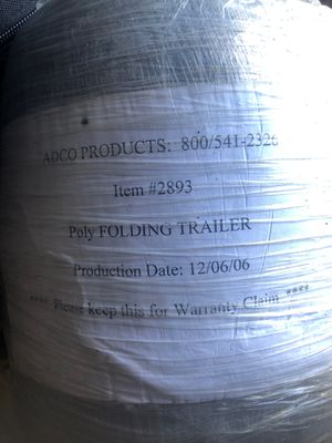 Poly folding trailer cover. Never opened for Sale in Sanford, FL