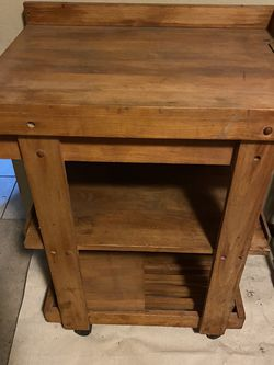 Cutting Table Butcher Block for Sale in Henderson,  NV