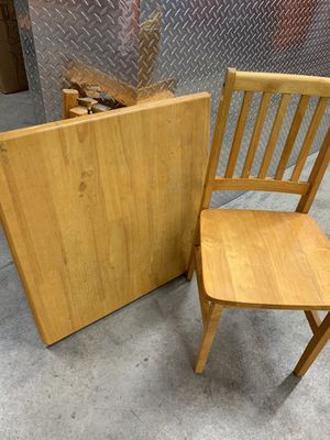 Table and two chairs for Sale in Jersey City, NJ