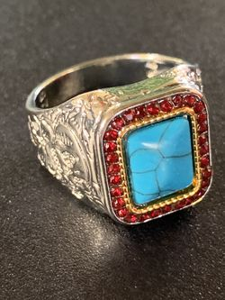 Sterling Silver Turquoise Ring for Sale in Ronkonkoma,  NY