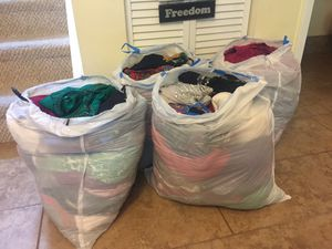 4 bags of clothes for $80 for Sale in Miami, FL