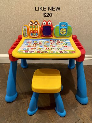 VTech Touch and Learn Activity Desk Deluxe for Sale in Newport Beach, CA