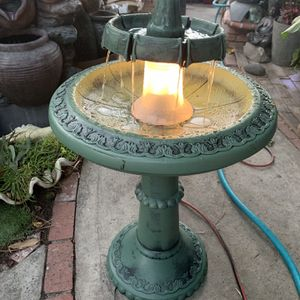 Plastic Fountain With Light for Sale in Commerce, CA