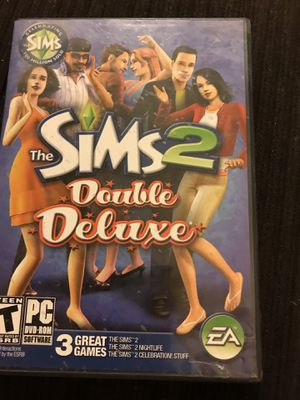 The Sims 2 Double Deluxe PC Game for Sale in Wildomar, CA