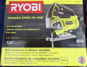 Ryobi Variable Speed Jig saw for Sale in Vista, CA