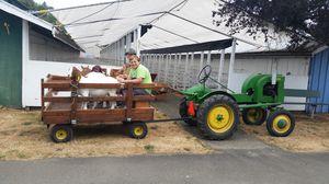 1940 John Deere tractor and wagon for Sale in Elma, WA