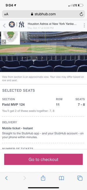 Yankee Playoffs tickets for Sale in Jamaica, NY