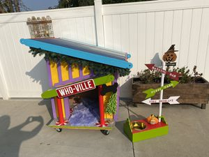 Grinch dog house for Sale in Ontario, CA