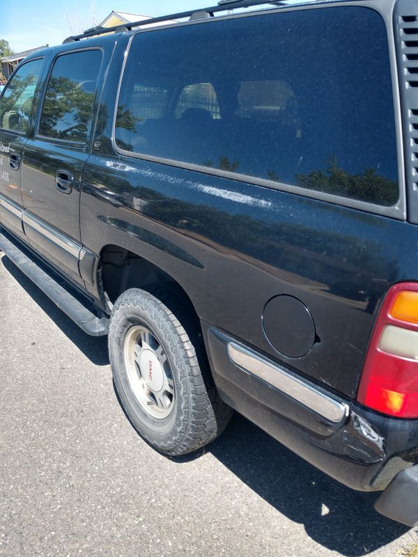 2003, GMC Yukon, 5.6-v-8 automatic 4wd. Parting out, transmission 2.5 years old. Rebuilt. All parts negotiable.