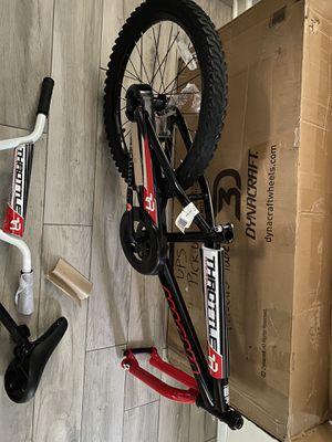 "Dynacraft Boys BMX Street/Dirt Bike 20"", Black/Red/White for Sale in Palos Hills, IL"
