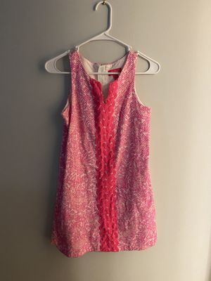 Girls Target Lily Pulitzer Hot Pink Dress Size 10-12 (L) for Sale in Chapel Hill, NC