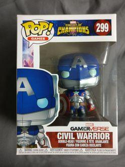 Civil Warrior Captain America Funko Pop for Sale in San Jose,  CA