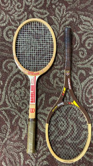 Vintage wooden Tennis Rackets for Sale in Murfreesboro, TN