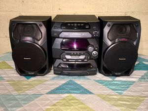 Panasonic SC-AK17 Compact Stereo System working perfect pick up location skokie Illinois for Sale in Skokie, IL