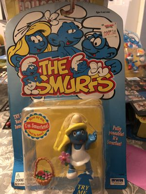 The smurfs smurfette action figure for Sale in Los Angeles, CA