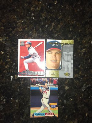 Atlanta Braves Hall of Fame Aces Baseball Cards for Sale in Kissimmee, FL