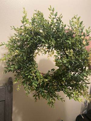 Decorative faux wreath for Sale in Bangor, ME