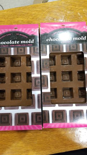Candy Cups Square Silicone Chocolate Mold for Sale in Queen Creek, AZ