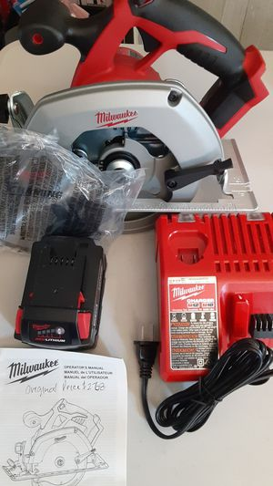 Milwaukee circular saw for Sale in Spring Valley, CA