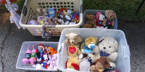 TY beanie babies and more! 2 for a dollar! for Sale in Fort Pierce, FL