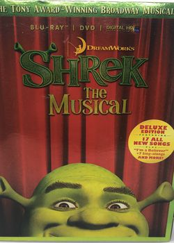 Shrek The Musical Blu-ray DVD for Sale in Corona,  CA